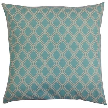 Darby Home Co Fairoaks Geometric Outdoor Floor Pillow