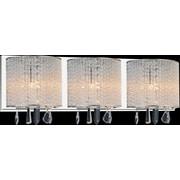 CrystalWorld 3-Light LED Wall Sconce