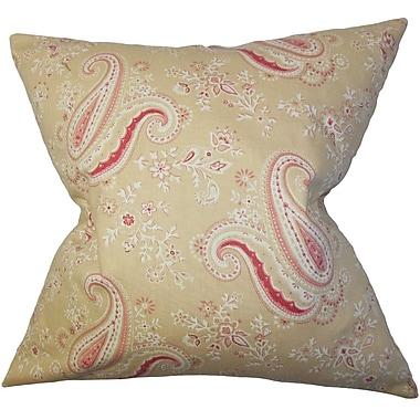 Charlton Home Lebaron Floral Floor Pillow