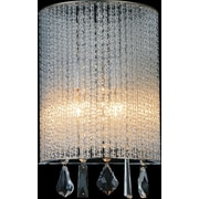 CrystalWorld 1-Light LED Wall Sconce