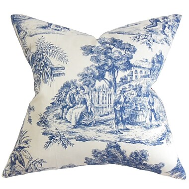 Darby Home Co Chalgrave Toile Etoile Floor Pillow
