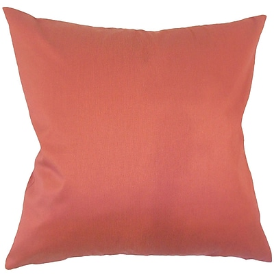 Darby Home Co Paizlee Solid Down Filled Throw Pillow; 22'' x 22''