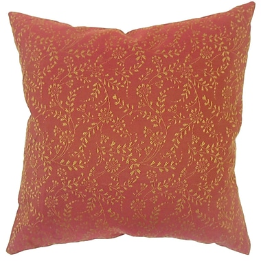 Darby Home Co Miami Floral Down Filled Lumbar Pillow