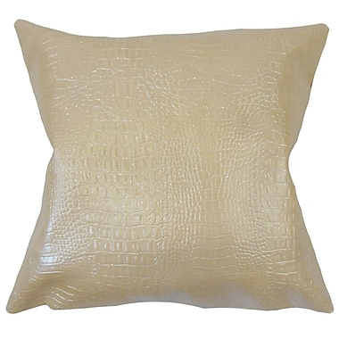 Latitude Run Sherrell Solid Down Filled Throw Pillow; 18'' x 18''
