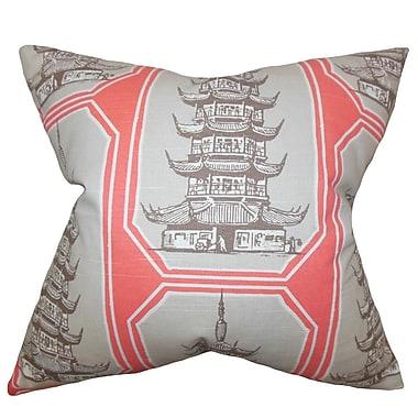 Bloomsbury Market Demers Asian Heritage Geometric Bedding Sham; Euro