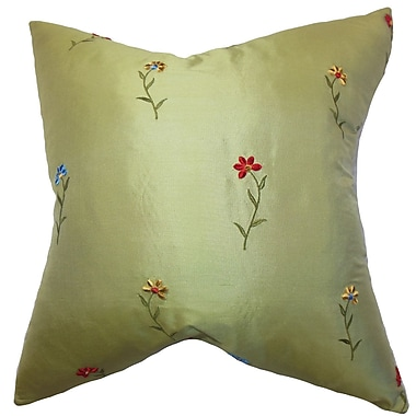 Astoria Grand Plemmons Floral Floor Pillow