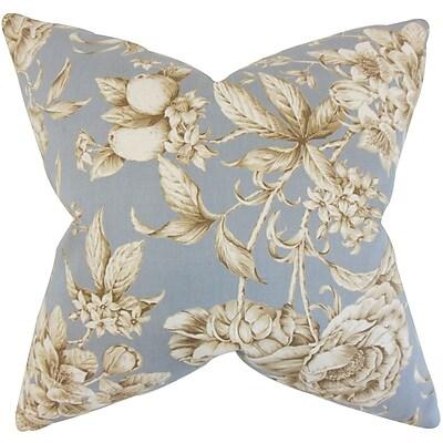 One Allium Way Peterkin Floral Floor Pillow