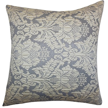 One Allium Way Perras Damask Floor Pillow
