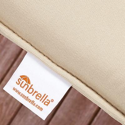 Brayden Studio Kallisto Classic Indoor/Outdoor Sunbrella Dining Chair Cushion (Set of 2)