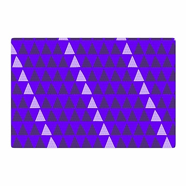 East Urban Home Matt Eklund Overload Digital Purple Area Rug; 2' x 3'