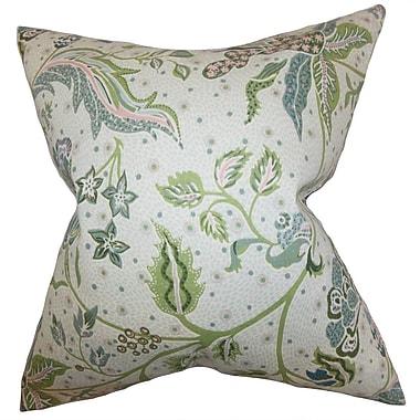 Bayou Breeze Croghan Floral Indoor Floor Pillow