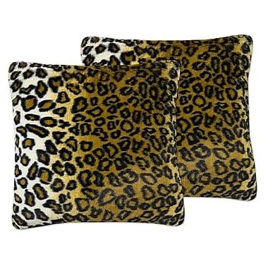 Bloomsbury Market Erick Plush Throw Pillow (Set of 2)