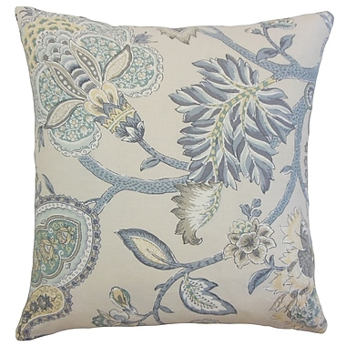 Bloomsbury Market Diannah Floral Floor Pillow