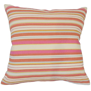 Red Barrel Studio Kesterson Striped Floor Pillow