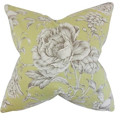 Red Barrel Studio Bluegrass Floral Floor Pillow