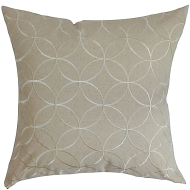 One Allium Way Perri Geometric Floor Pillow