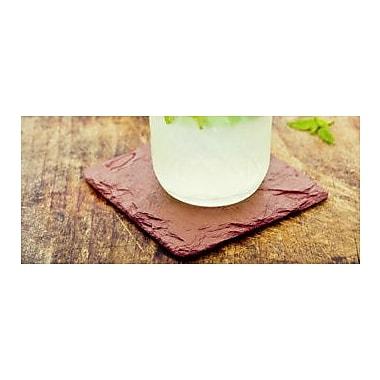 Mint Pantry Beverage Coaster (Set of 4); Red