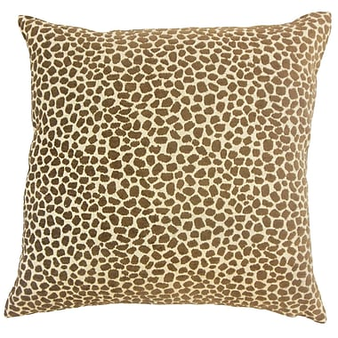 Bloomsbury Market Duddleston Animal Print Floor Pillow Teak