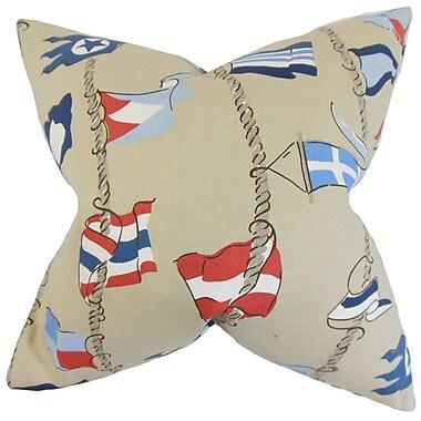 Bayou Breeze Collins Flags Floor Pillow