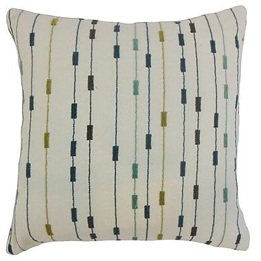 Brayden Studio Custodio Stripes Floor Pillow