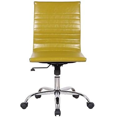 Orren Ellis Karina Adjustable Mid-Back Desk Chair; Green
