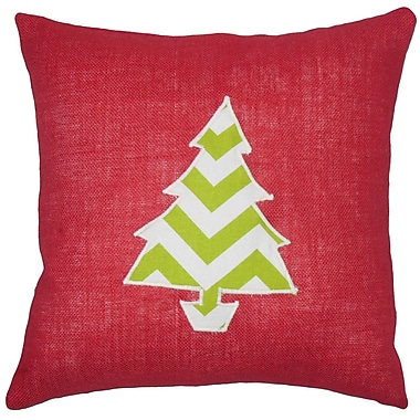 The Holiday Aisle Virgia Holiday Floor Pillow