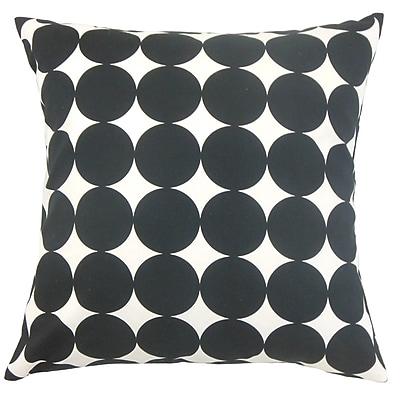 Brayden Studio Shamar Polka Dot Floor Pillow