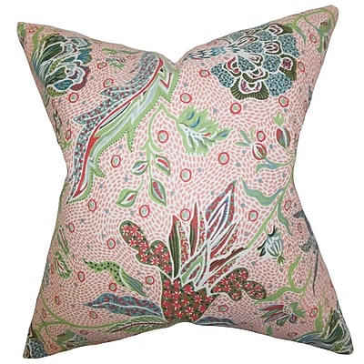 Bayou Breeze Croghan Floral Floor Pillow