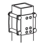 "Ergotron® Brackets for 3"" x 3"" Command Post (60-154-100)"