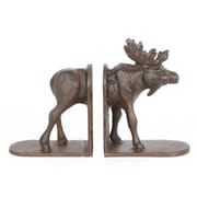 "Moose Bookend - Set of 2, 8.7 x 2.8 x 5.5"" (8817-AM5990-S2)"
