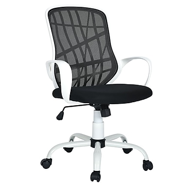 Desert WB Office Chair, Mid-Back, White (3339-AM8578-WH)