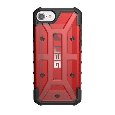 UAG – Étui Plasma pour iPhone 6/6S/7, rouge/transparent (IPH7/6SLMG)