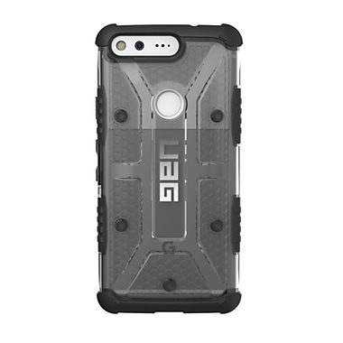 UAG Plasma Cell Phone Case for Google Pixel, Grey/Clear (GPIXLAS)
