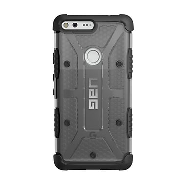 UAG Plasma Cell Phone Case for Google Pixel XL, Grey/Clear (GPIXXLLAS)