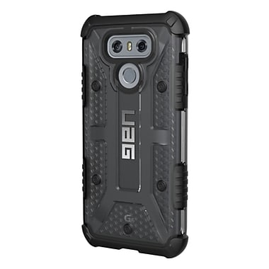 UAG Plasma Cell Phone Case for LG G6, Grey/Clear (LGG6LAS)