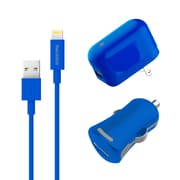 Apple Certified MFI Lightning USB Home & Car Charger Set For iPhone iPod & iPad