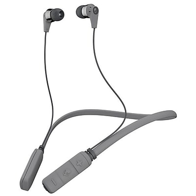 Skullcandy INK'D Wireless In-Ear Headphones Gray and Chrome
