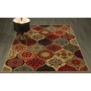 Winston Porter Arline Red/Yellow Area Rug