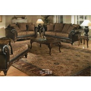 Astoria Grand Oswego Wood Loveseat