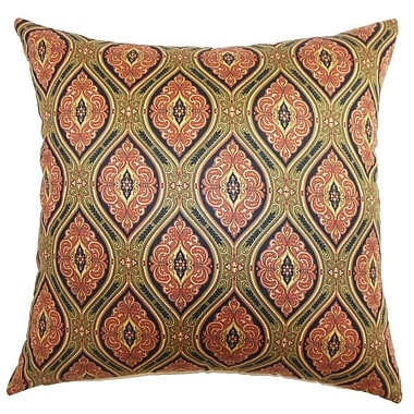 Astoria Grand Piedmont Paisley Cotton Blend Floor Pillow; Midnight