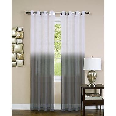 Orren Ellis Rasheeda Abstract Semi-Sheer Rod Pocket Single Curtain Panel