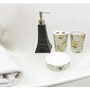 Ophelia & Co. McDonough Paris Eiffel Tower 4 Piece Bathroom Accessory Set