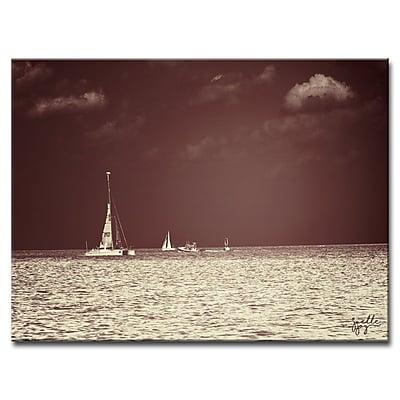 Breakwater Bay 'Home Before Dark' Graphic Art Print on Canvas; 20'' H x 30'' W