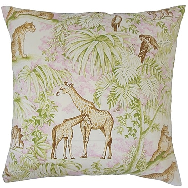 Bloomsbury Market Dowland Graphic Floor Pillow Blue; Pink