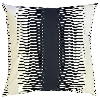 Bloomsbury Market Dru Geometric Floor Pillow Bronze; Midnight