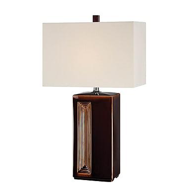 Bloomsbury Market Eladia 28.75'' Table Lamp; 25W 3-Way Fluorescent