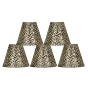 Bloomsbury Market 6'' Animal Print Empire Lamp Shade (Set of 5)