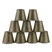 Bloomsbury Market 5'' Cheetah Empire Lamp Shade w/ Clip-on (Set of 9)