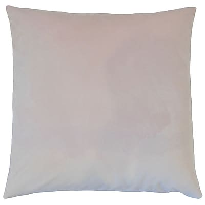 Darby Home Co Fernson Solid Cotton Blend Floor Pillow; Orchid