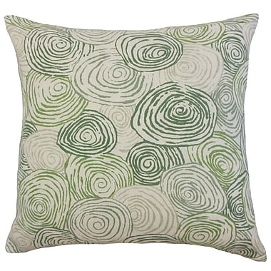Brayden Studio Zakary Graphic Floor Pillow Beach; Grass